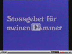 stossgebet fuer meinen Hammer - German porn from the 70th