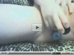 homemade amateur teenie dildo playing