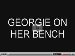 Georgie On Her Bench