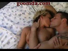 german short haired blonde fucked hard on bed by big cock 2