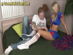 Teen Cheerleader Gets Pregnant