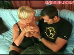 Hot mature blonde enjoy  sex
