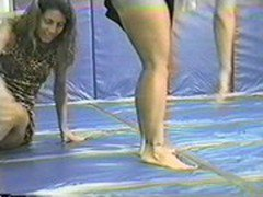 Flamingo Wrestling WW37 Nicole vs Suzanne Female Wrestling Catfight cfvideo 1 of 2
