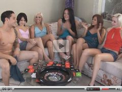 6 Hot Girls in Party Game