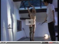 Shibari Spanked And Suspended