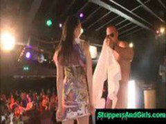 dancing bear night with hot ladies andmale strippers