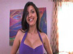 Hot Latina Uma Stone Riding, Creaming, and Facial