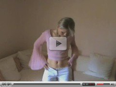 Very Hot Blonde Teen Mastrubate