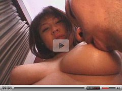 busty japanese girl sucking cock