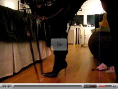 Men in very sexy Gianmarco Lorenzi Boots masturbation!