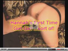 Hannahs First Time BI and ANAL SQUIRT