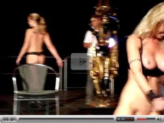 Dildo Show on Stage by snahbrandy