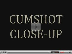close-up cumshot compilation 01 - MrD
