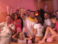 Super hot Pink TV party
