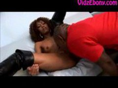 Extremely Hot Curly Haired Black Girl Giving Blowjob Ebony Sex Blowjob Africa African Booty Ass Butt