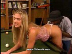 Cute Blonde Teen Takes a Big
