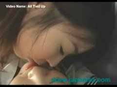 School Girl is Tied Bound Up and Molested Japanese Lesbian
