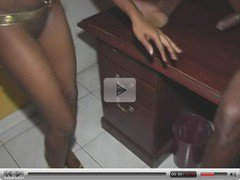 Jamaican chick fucked VERY hard