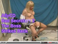 AllyCDTV Bad Secretary 2 The Boss Strikes Back