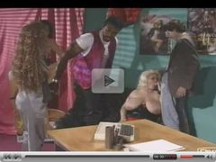 British Big and Busty Gaynor in foursome (German Soundtrack)