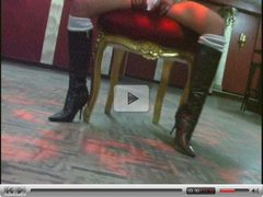 striptease girl fucked in a bar - german - csm