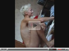 Home video with sexy girl