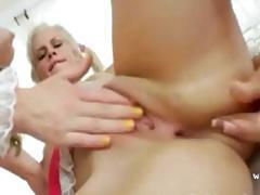 two sexy lesbians with pink toy
