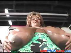 Freak of Nature Giant Boobs Bigger Then The Woman