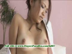 Iori Mizuki hot babe lovely japanese babe gets nipples licked and pussy fingered