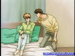 Anime gay gets his tight ass fucked