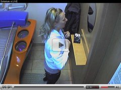 Voyeur webcam nude girl in solarium part5
