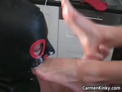Bigtit Carmen in amazing sexy bdsm part1