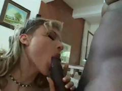 getting the big black cock