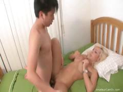 milf teachs how to fuck fine
