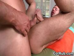 Hot guy get his amazing body massaged part2
