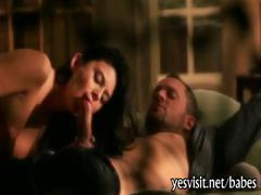 Sultry babe Nikki Daniels fucked good with her partner