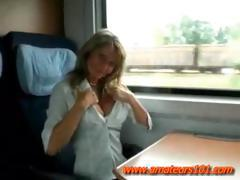 Hot Mum Fucking In Train