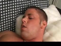Straight Alex jerking his hard cock part4