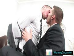 Shane cant keep his hands off his offic colleague part5