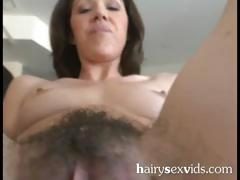 Sexy Unshaved Wet Cunt Fucked
