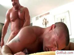 Two mature hunks fucking part4