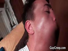 Muscled hunk riding hard gay tube part1