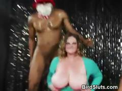 Horny Girls At Batchelorette Party Pass Stripper Cock Around