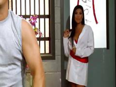 Asian training with London Keyes