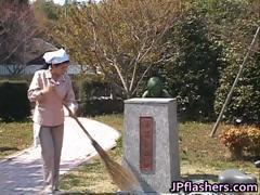 Free jav of Crazy Japanese bronze statue part4